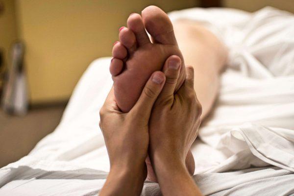 Pränatale Fußreflexzonenentspannung